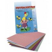 Rayher hobby materialen Fotokarton met strepen