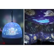 Xuzhou Fanpusi Goods Co.,Ltd T/A Top Good Chain £10.99 instead of £39.99 for a kids starry projector lamp with four films from Topgoodchain - save 73%