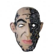 Merkloos Halloween feest masker cyborg