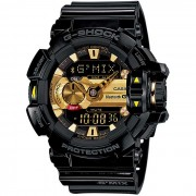 Reloj analogico-digital genuino casio g-shock GBA-400-1A9CR bluetooth-negro