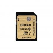 Card Kingston SDXC 128GB Clasa 10 UHS-I