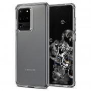 Capa de TPU Spigen Liquid Crystal para Samsung Galaxy S20 Ultra - Transparente