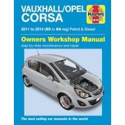Haynes Workshop manual Opel Corsa Essence & Diesel (2011-2014) 6335