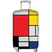LOQI Pokrowiec na walizkę LOQI Museum Piet Mondrian