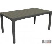 Curver Harmony grafit / szürkésbarna színű asztal CRV-224702