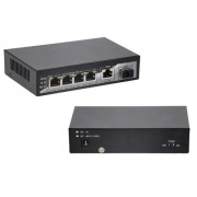 6 Port Gigabit POE Network Switch with SFP Port & RJ45 Uplink Port