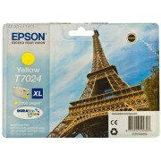 Epson T7024 Eiffel Tower XL Yellow Ink Cartridge
