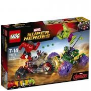 LEGO Marvel Superheroes: Hulk contre Hulk Rouge (76078)