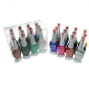 DFXZ Two Way Shining Nail Art Nail Polish In PCs In 12 Color High Quality..