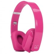 Nokia $$ Cuffie Originali A Filo Stereo Monster Purity Hd On-Ear Wh-930 Pink Per Modelli A Marchio Huawei