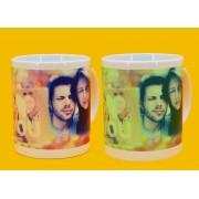 Светеща чаша със снимка