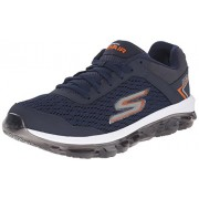 Skechers Men's Go Air Navy and Orange Sneakers - 7 UK/India (41 EU) (8 US)