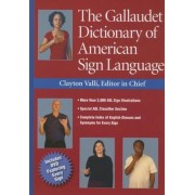 The Gallaudet Dictionary of American Sign Language [With DVD], Hardcover