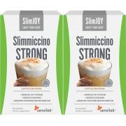 SlimJOY Slimmiccino STRONG Café queima gordura com Garcinia cambogia e café verde acção emagrecedora 4-em-1 programa de 20 dias 20 saquetas