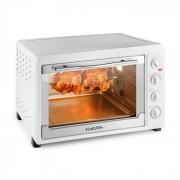 Klarstein Masterchef 60 mini sütő, 2500 W, 60 liter, rozsdamentes acél, fehér
