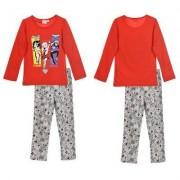 DCShoe Batgirl, Supergirl och Wonderwoman Pyjamas (6 ÅR - 116 CM)