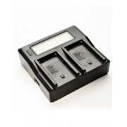Digital Power Incarcator dual LCD pentru acumulator Sony NP F960 F970