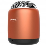 NILLKIN Metal Cavity Remote photography Bullet Mini Wireless Speaker with Mic - Orange