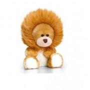 Keel Toys Beer zittend in leeuwen onesie 14cm
