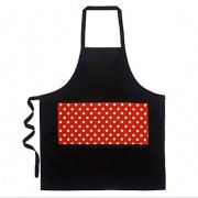 Apron -Red Polka Dot Pocket by Annabel Trends