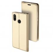 Capa Flip Dux Ducis Skin Pro para Xiaomi Mi A2 Lite - Dourado