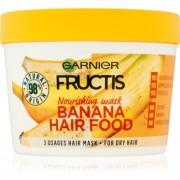 Garnier Fructis Banana Hair Food mască nutritivă pentru păr foarte uscat 390 ml