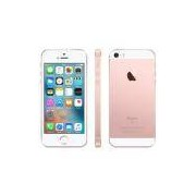 "iPhone SE Apple com 64GB, Tela 4"", iOS 9, Sensor de Impressão Digital, Câmera iSight 12MP, Wi-Fi, 3G/4G, GPS, MP3, Bluetooth e NFC - Ouro Rosa"
