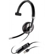 Plantronics Blackwire C710 Wired/Wireless Bluetooth Mono Headset - Over-the-head - Supra-aural - Black