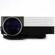Proyector Mini Gm50 80 Lumens 320x480 Usb Hdmi 120 Generico - Gris