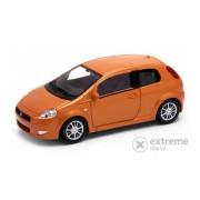 Masinuta Welly Fiat Grande Punto (1:43) , portocaliu