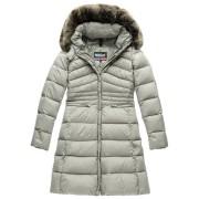 Blauer USA Trench Ladies Down Jacket Grey L