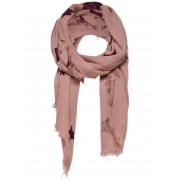 ONLY Star Printed Scarf Kvinna Rosa