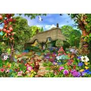 Puzzle Bluebird - English Cottage Garden, 1500 piese (70141)