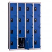 Atoutcontenant Armoire vestiaire 4 cases monobloc