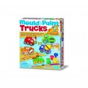 Figura para Moldear y Pintar 4M - tractores