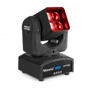 Beamz Matrix 22Z Cabeza móvil LED con zoom 4 LEDs RGBW 4 en 1 de 10 W (150.311)