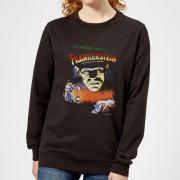 Universal Monsters Frankenstein Vintage Poster Dames Trui - Zwart - XXL - Zwart