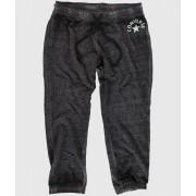 pantaloni donna 3/4 (tuta) CONVERSE - LAVATO Triblend - Buio Grigio - 09778C-003