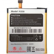 Battery For Micromax Canvas Knight A350 A 350 2500mAh