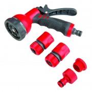 Set pistol pentru stropit multijet Proline, accesorii incluse