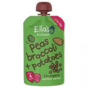 Ellas Kitchen Babymos ærter, broccoli & kartofler 4 mdr Ø - 120 G