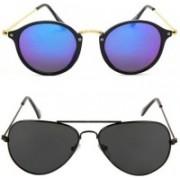 Neelkanth Aviator Sunglasses(Multicolor)