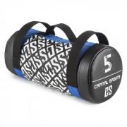 Capital Sports Toughbag Power Bag, чанта за упражнения, пясъчна чанта, 5 кг, синтетична кожа (FIT13-thoughbag)
