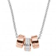 Emporio Armani Colier din argint cu pandantive din bronz EG3045040