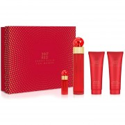 Set 360° Red 4Pzs 100 ml Edp Spray + Body Lotion 90 ml + Shower Gel 90 ml + 7.5 ml Edp Spray de Perry Ellis