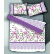"Спално бельо ""Purple Dream"" Ранфорс - 100% Памук"