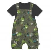 Petit Béguin Salopette + t-shirt bébé garçon Rafiki - Taille - 9 mois