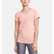 Under Armour Damesshirt UA Seamless Melange met korte mouwen - Womens - Orange - Grootte: Large