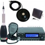 Pachet statie radio CB Avanti Kappa PRO-version + Antena radio CB Avanti Forte cu baza magnetica 145 PL si difuzor exter