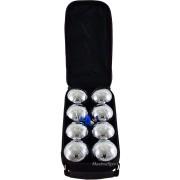 Комплект 8 топки за петанк от хромирана стомана